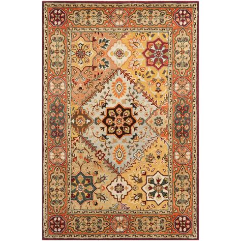 foreign accents legends hand tufted red area rug wayfair safavieh persian legend red rust 4 ft x 6 ft area rug