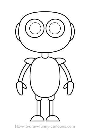 Drawing Robot by Robot Drawing Sketching Vector