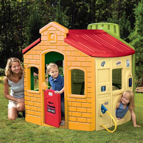 tikes house tikes town house playhouse new wendy house