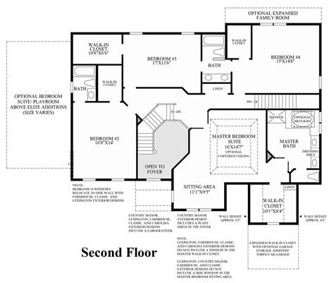 Dominion Homes Floor Plans | new luxury homes for sale in haymarket va dominion