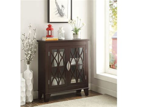 accent cabinet with glass doors accent cabinet with glass doors 950312 glass doors accent