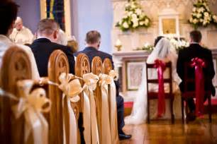 Ideas For Decorating Church Pews For Wedding » Home Design 2017