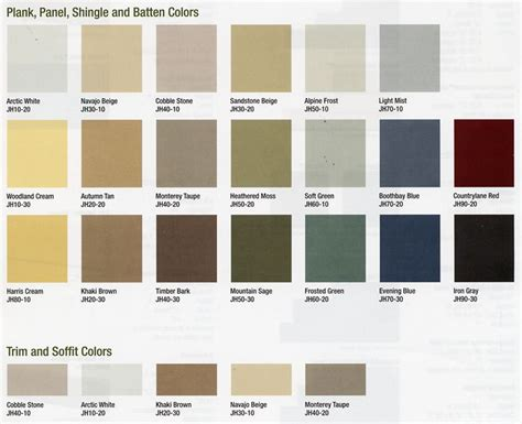 hardiplank siding colors hardie colors hardiplank colors images