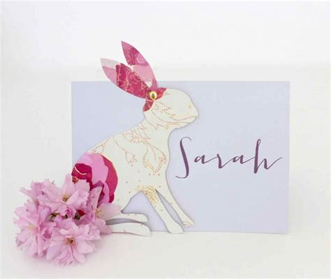 Easter Place Card Template by Easter