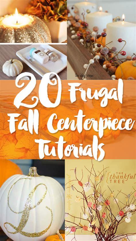 fall centerpiece ideas inexpensive fall centerpiece ideas frugal beautiful