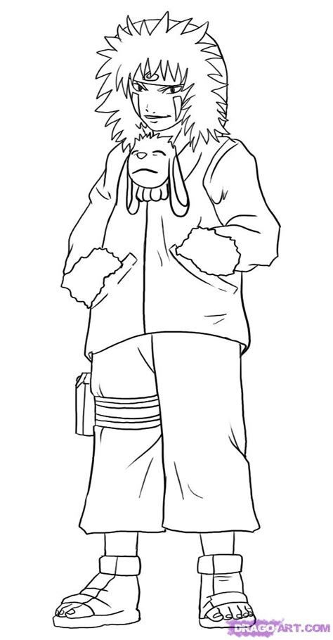 coloring pages of people s names how to draw kiba step by step naruto characters anime