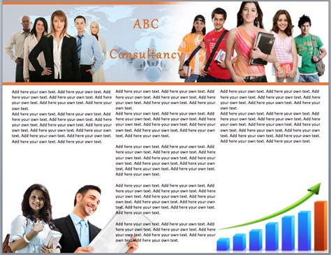 career brochure template career counseling brochure templates pictures