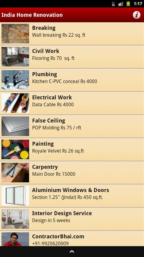 home renovation app updates contractorbhai contractorbhai