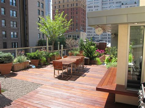 Roof Deck Garden by Rooftop Terrace Decks All Decked Out