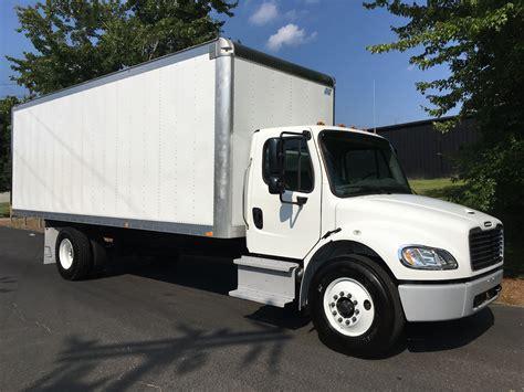 freightliner used trucks 2017 freightliner m2 box truck under cdl freightliner