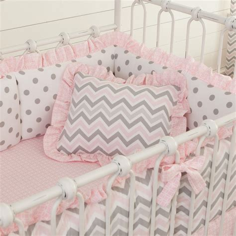 Pink And Gray Chevron Crib Bedding by Pink And Gray Chevron Fabric By The Yard Silver Fabric