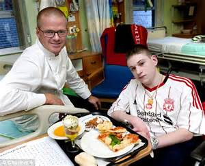 Hospital Chef Description by Chef Heston Blumenthal S Healthy Tip Put Seaweed In Hospital Food Daily Mail