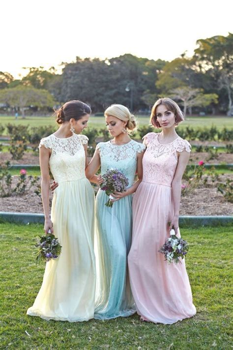 6 Ways to Do Mismatched Bridesmaid Dresses   Wedding