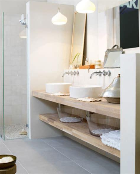 badkamer inspiratie rustic modern bathroom