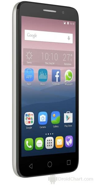 Hp Alcatel Pop 10 alcatel onetouch pop 3 5 2015 review and specifications droidchart