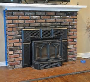White Brick Fireplace by Fireplace Makeover The Good The Bad The Ugly Daisy