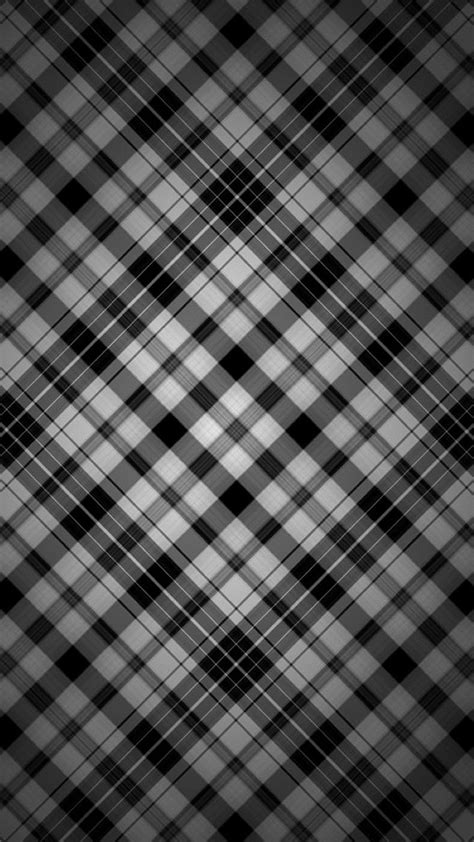 Black and white check patterns iPhone wallpaper | Black