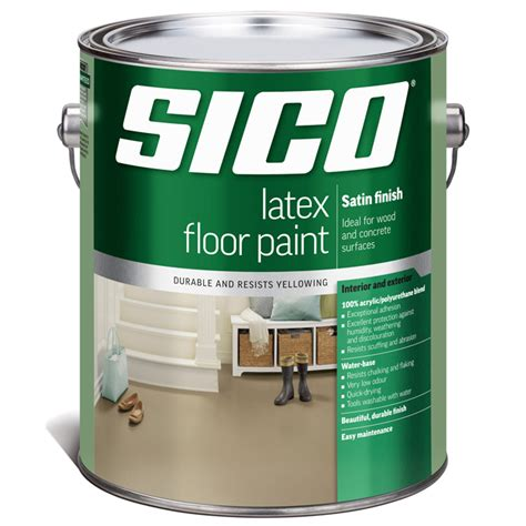 acrylic paint on rubber paint acrylic floor rona