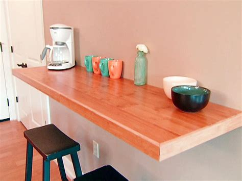 wall mounted bar table wall mounted dining table on the kitchen spotlats