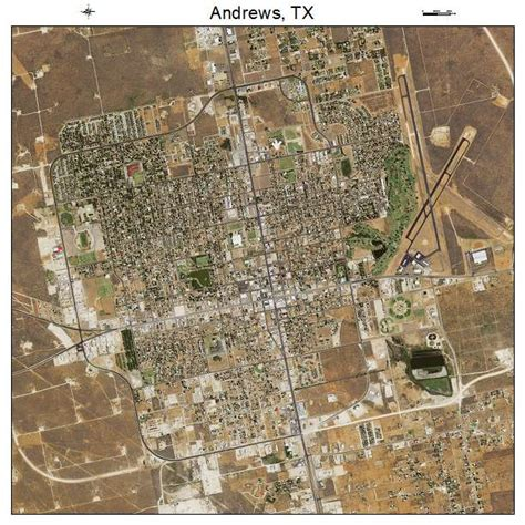 andrew texas map aerial photography map of tx texas