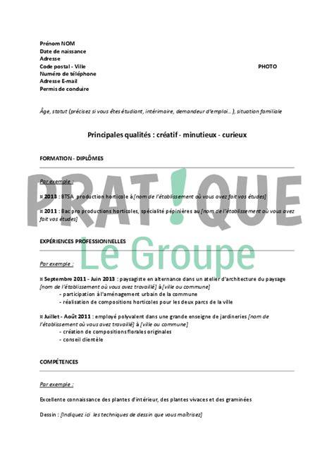 Exemple De Lettre Levée D Option D Achat Modele Cv Horticulture Cv Anonyme