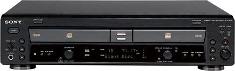 format audio cd normal sony rcd w100 image 759804 audiofanzine