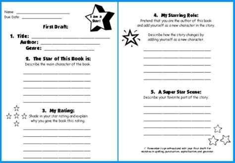 Book Report Sheet For 1st Grade by Book Report Worksheet Grade Search Results Calendar 2015