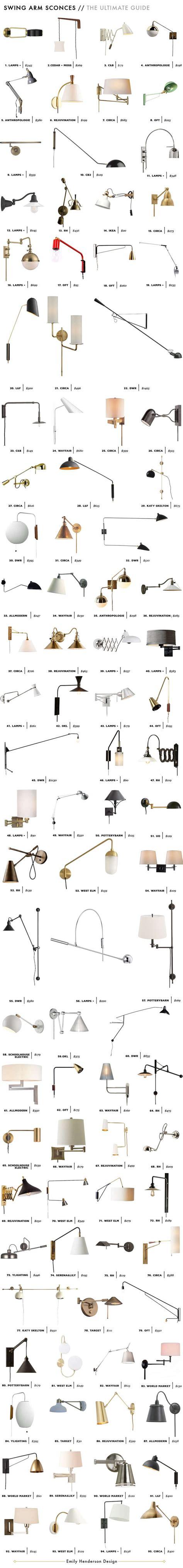 bedroom wall ls swing arm 202 best lighting images on pinterest bathroom lighting