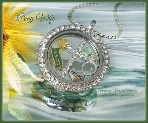 Origami Owl Army Charm - 17 best images about origami owl on plates