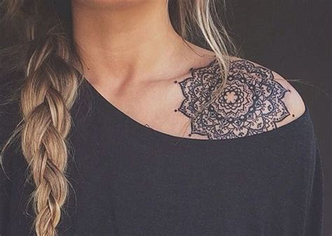 sholder tattoo mandala shoulder best ideas designs