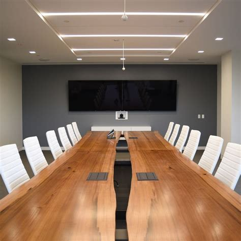Live Edge Boardroom Table 17 Best Images About Waitt Ivanhoe Office On Pinterest Industrial Pendant Lights And Metals