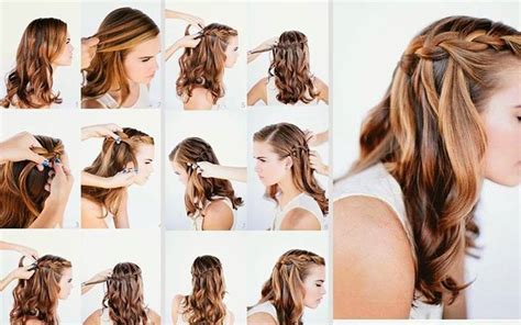 hair style new pic step by step party hairstyle on few steps fashion style photos