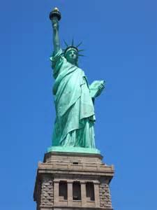 statue of liberty copper color black sw cornucopia visiting the statue of liberty