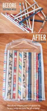 Gift Wrapping Storage Ideas - 51 trucos para almacenar objetos en tu casa sin utilizar mucho espacio 161 est 225 n geniales