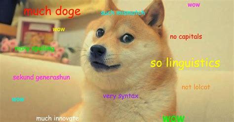 How To Pronounce Doge Meme - randy finch s film blog such analyze many grammar amaze