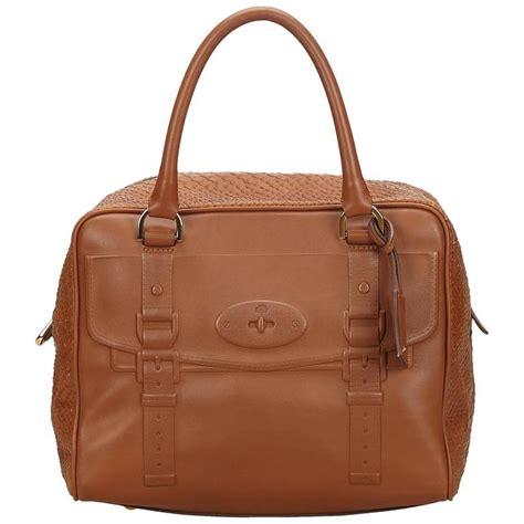 Fashion Bag 1608 V mulberry brown leather handbag for sale at 1stdibs