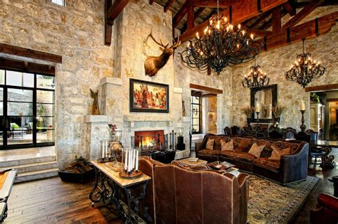 style lake house mediterranean living room oklahoma all rooms living photos family room