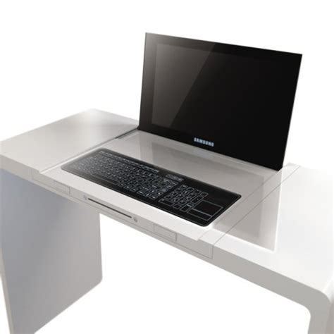 Integrated Computer Desk by Descom Desk With Integrated Computer Markpascua