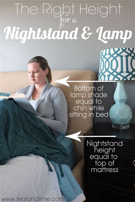 how high should my bed be 25 best ideas about bedside table ls on pinterest
