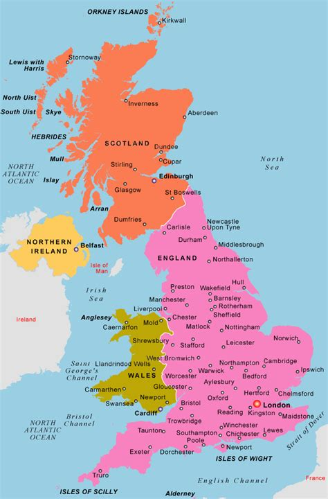 map of the united kingdom image gallery united kingdom map