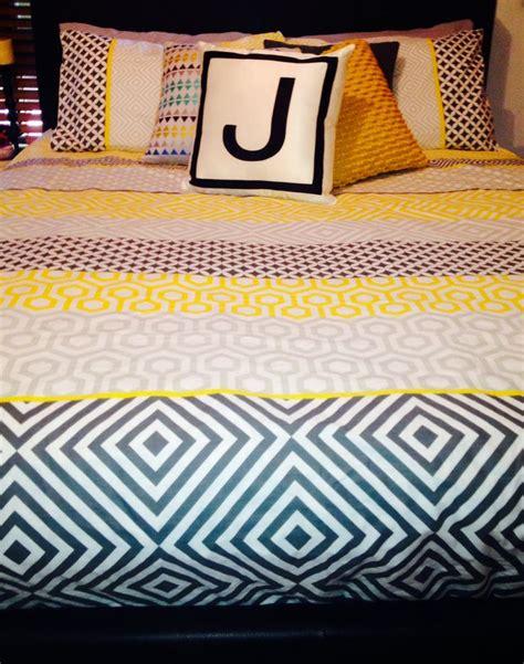 Gray Room Decor Yellow Amp Grey Doona Cover Home Decor Furniture Pinterest