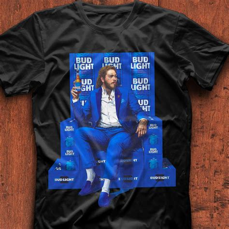 bud light button up shirt post malone for bud light shirt hoodie tank top and sweater
