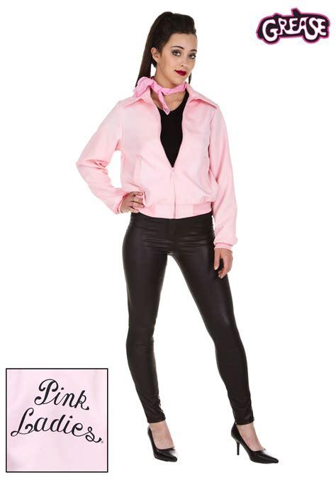 deluxe pink ladies jacket costume   size