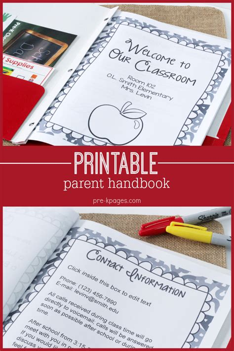 Parent Handbook Template parent handbook faq s for preschool pre k and kindergarten
