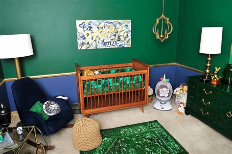 tori spelling home decor tori spelling s chic and elevated nursery for beau
