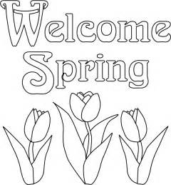 Transmissionpress welcome spring coloring pages