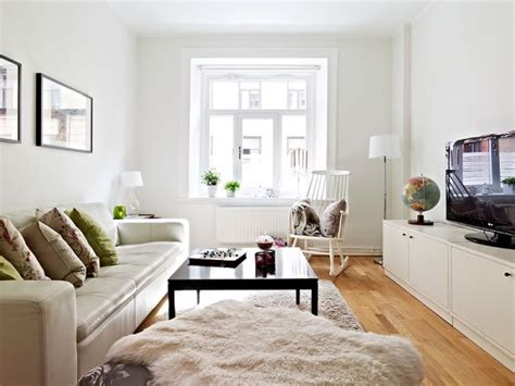 a small neutral apartment of 50 square meters