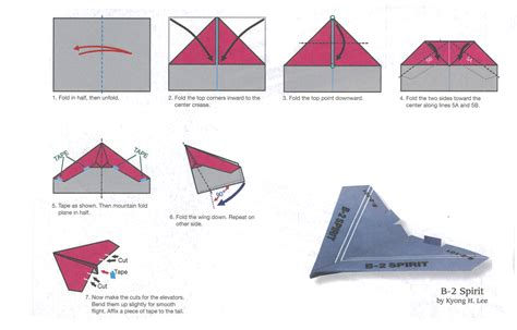 How To Fold A Paper Plane - best paper plane folding keres 233 s