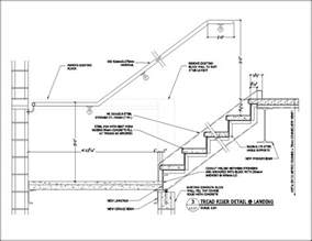 Stairs Details Dwg by Stair Detail Drawings Submited Images