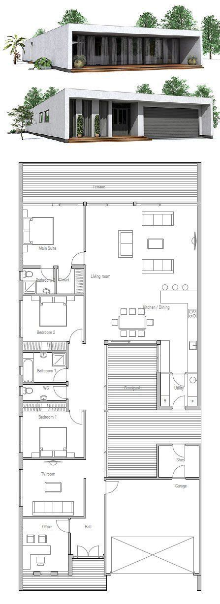 minimalist floor plans best 25 modern minimalist house ideas on pinterest